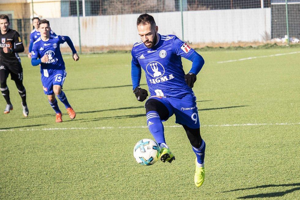 Olomoucká Sigma doma remizovala v přípravném utkání doma s Ružomberkem 1:1.  Milan Lalkovič