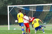 Fotbal Litovel - Želatovice. Ilustrační foto