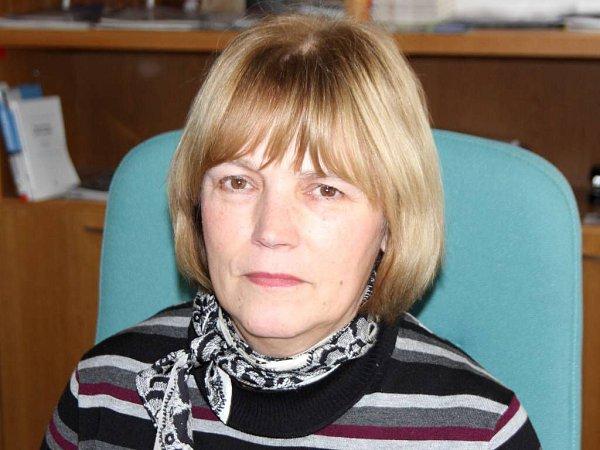Ředitelka Vědecké knihovny vOlomouci Jitka Holásková