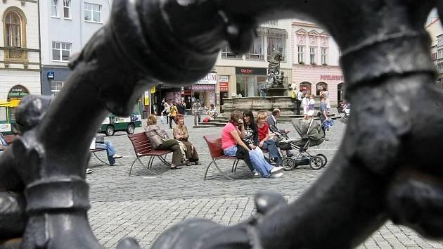 Horní náměstí v Olomouci