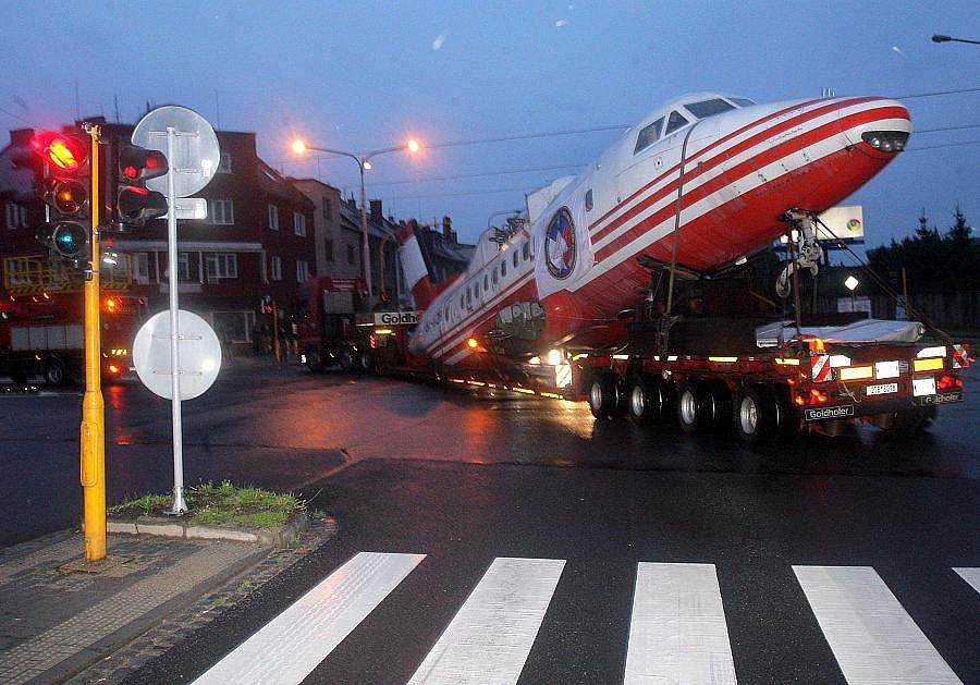 Cesta Letu L-610M do leteckého muzea v Neředíně