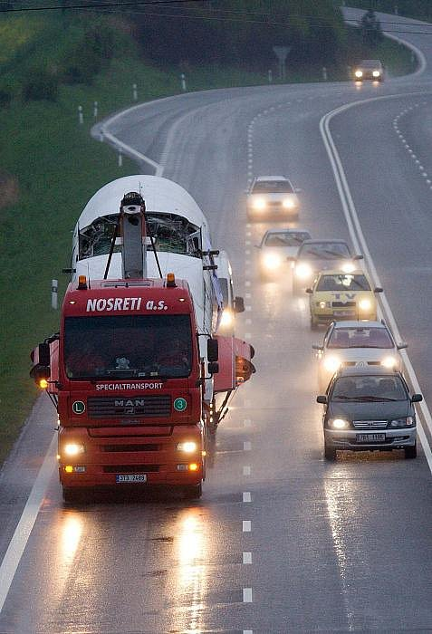 Cesta Letu L-610M do Olomouce