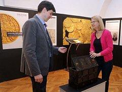 Uničovský zlatý poklad ve Vlastivědném muzeu Olomouc