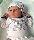 Anna Soorová, Vsisko, narozena 16. října v Olomouci, míra 48 cm, váha 3140 g
