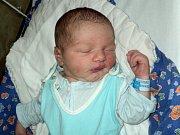 Michael Krumnikl, Litovel, narozen 4. října ve Šternberku, míra 51 cm, váha 3740 g