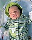 Bruno Beránek, Hranice, narozen 12. dubna v Olomouci, míra 51 cm, váha 4230 g