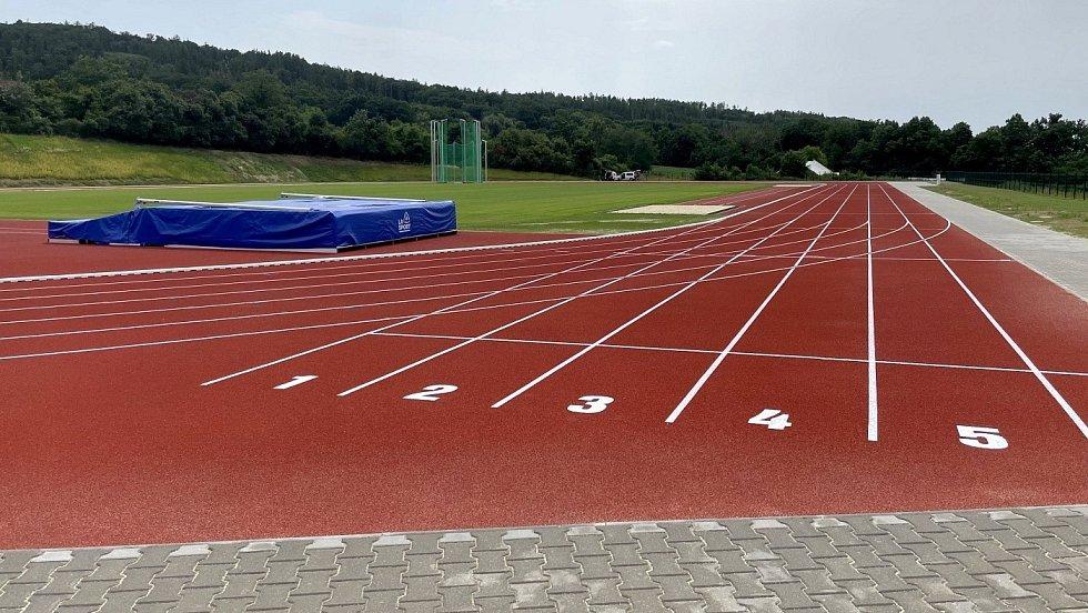 Atletický stadion ve Šternberku, 14. července 2021