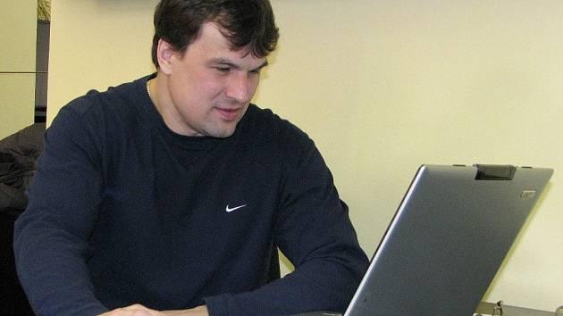 Richard Brančík v on-line rozhovoru pro Olomoucký deník.
