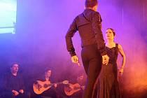 Tanečníci Olga Pericet a Marco Florese předvedli v olomouckém Áčku vášnivé představení Paso a Dos