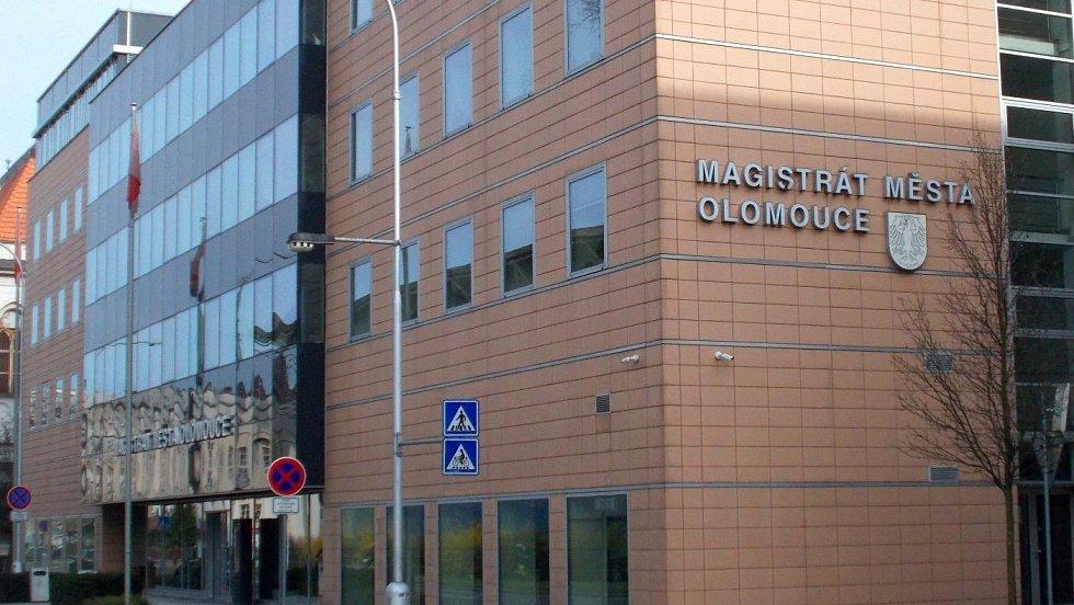Budova olomouckého magistrátu v Hynaisově ulici
