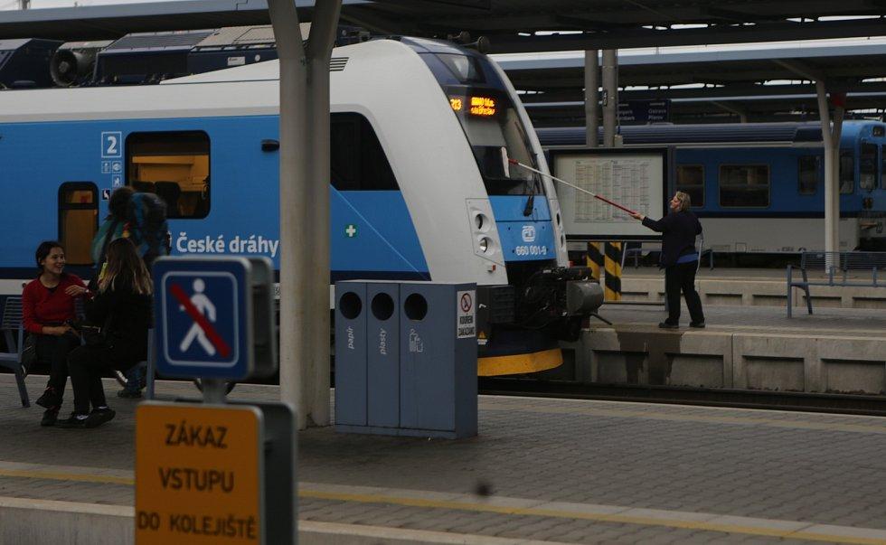 Hlavní nádraží v Olomouci. Ilustrační foto