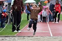 Nestlé Dětská zlatá liga na olomouckém atletickém stadionu