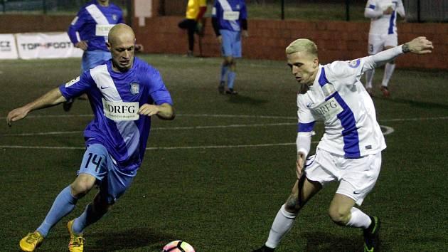 Superliga malého fotbalu - Olomouc v modrém. Ilustrační foto