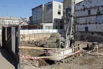 Stavba nového olomouckého hotelu ve Wolkerově ulici