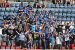 Fanoušci Sigmy na zápase se Zlínem na Andrově stadionu, 20.7.2019