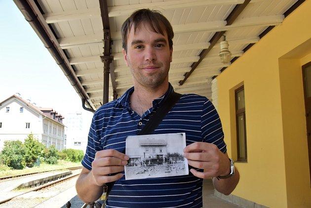 Martin Kašpar se snaží zachránit nádraží vNáměšti na Hané