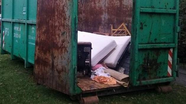 Velkoobjemový kontejner. Ilustrační foto