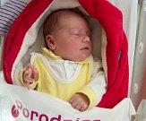 Timea Štefková, Mladějovice narozena 26. března, míra 52 cm, váha 3750 g