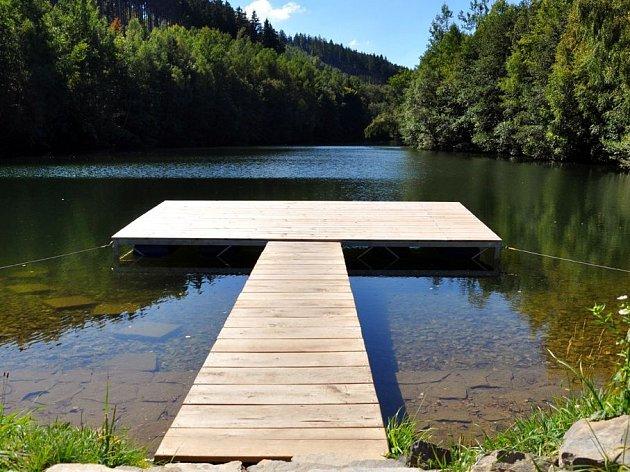 Horní přehrada v Dolním Bušínově