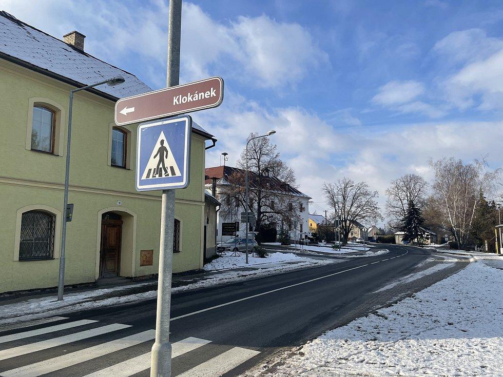 Dlouhá Loučka, projekt Fondu ohrožených dětí Klokánek, leden 2021