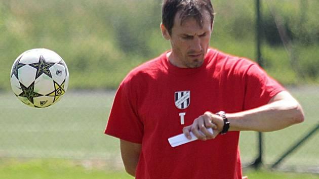 Trenér 1. HFK Olomouc Jiří Derco