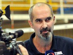 Bývalý reprezentant a nyní trenér volejbalistek Šternberku Martin Hroch