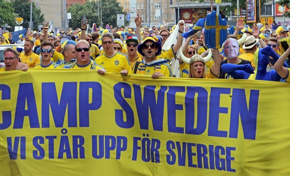 Euro 21 v Olomouci: Švédsko vs. Itálie - atmosféra před zápasem