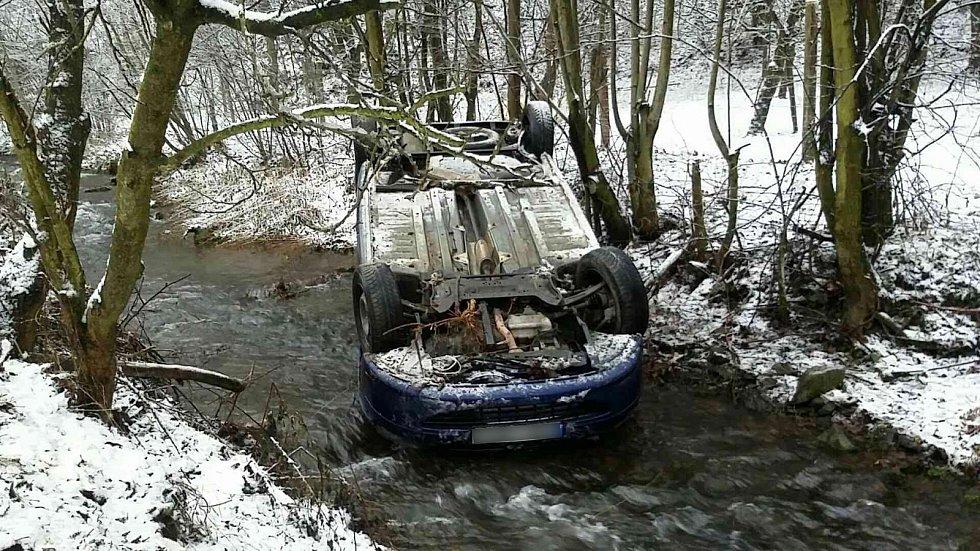 Nehoda ve Stříteži nad Ludinou