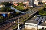 Most přes Moravu na třídě Kosmonautů v Olomouci. Ilustrační foto