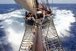 Kapitán Šimon Pelikán z Olomouce na plavbě přes Atlantský oceán