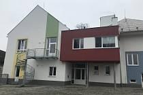 Nová mateřská škola v Pňovicích, prosinec 2020