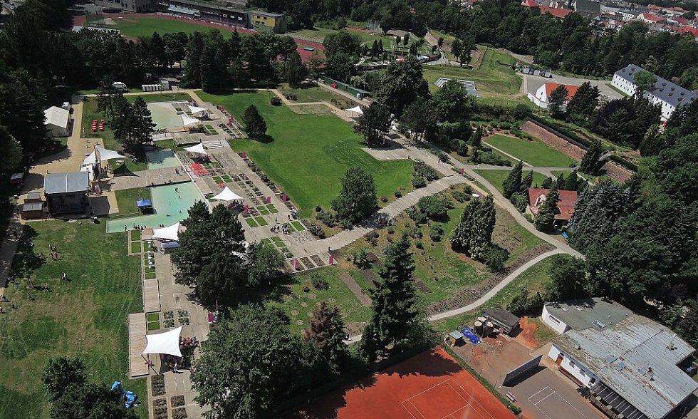 Olomoucké rozarium v novém