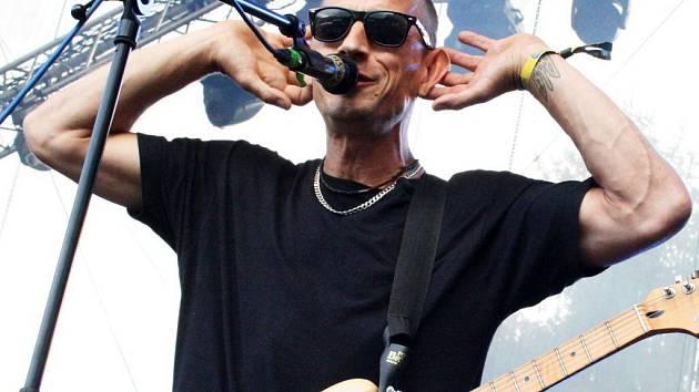Matěj Homola z kapely Wohnout