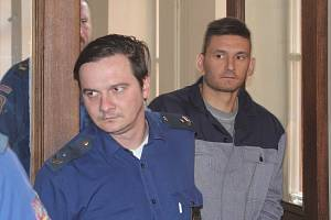 Radim Žondra u brněnského soudu, 26.3.2019