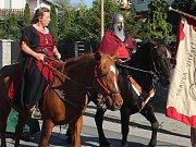 Průvod ke svátku svatého Václava v Černovíře - 28. září