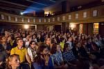 Akce PechaKucha Night 2014 v bývalém olomouckém kině Central