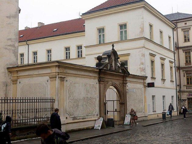 Bývalý klášter v Kateřinské ulici v centru Olomouce