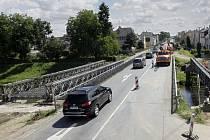 Rekonstrukce mostu v Dukelské ulici v Litovli