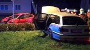 Nehoda v Hanušovicích 7.10.2017
