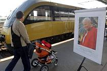 Papežský vlak v Olomouci