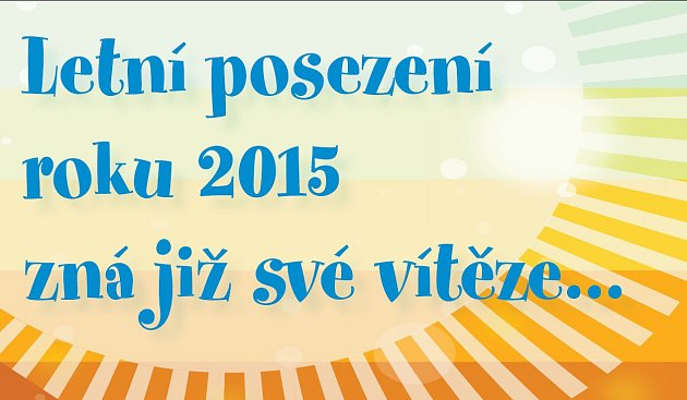 Letní posezení 2015 - vítězové