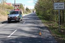 Nezletilého cyklistu měl u Dolan na Olomoucku srazit šofér zelené dodávky