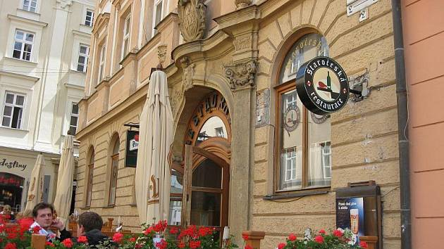 Staročeská restaurace v Olomouci