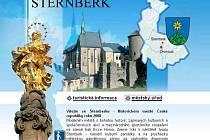 Oficiální webové stránky Šternberka