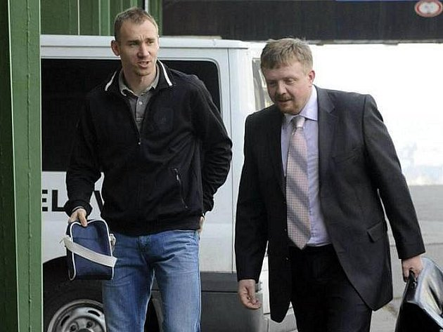 Petr Drobisz a právník Sigmy Petr Konečný