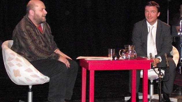 Vladimír Šmicer v talkshow Davida Hrbka