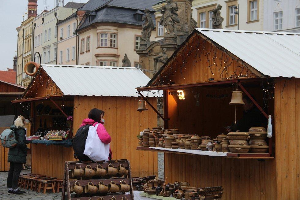 Vánoční trhy v Olomouci 16. prosince 2020