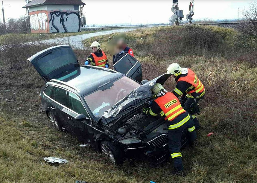 Nehoda v Horní Moštěnici