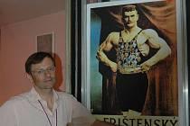 Ze Švýcarska přijel do Olomouce i prasynovec slavného zápasníka Gustav Frištenský.