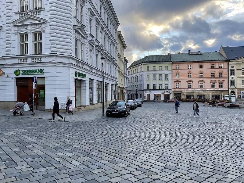 Horní náměstí. 13. října 2021